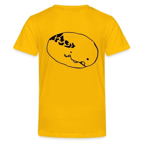 monster - kinder shirt (back) - Teenager Premium T-Shirt