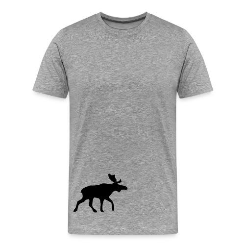 Ash Tshirt and Black Elk - Men's Premium T-Shirt
