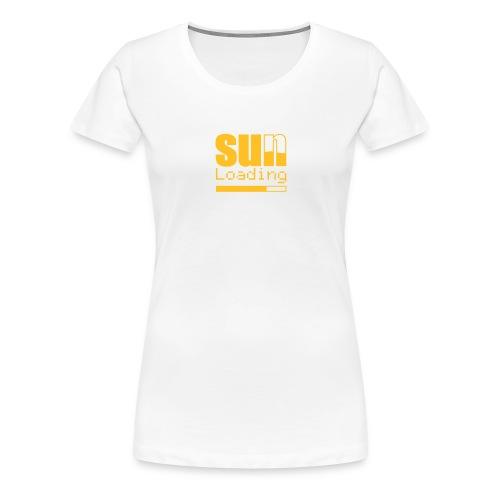 Sun - Naisten premium t-paita