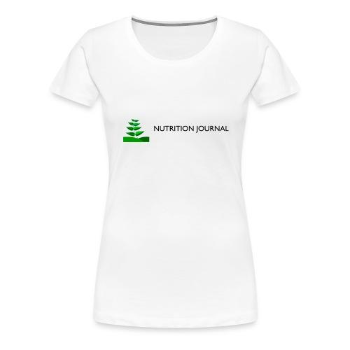 Nutrition Journal (Women's Continental Classic) - Women's Premium T-Shirt