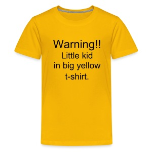 Little Kid T-Shirt - Teenage Premium T-Shirt