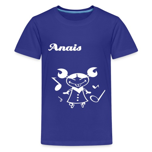Chinese girl - T-shirt Premium Ado