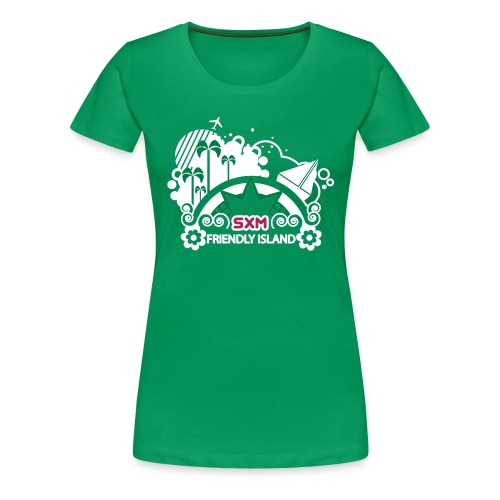 SXM island - T-shirt Premium Femme