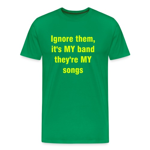 MY band! - Men's Premium T-Shirt