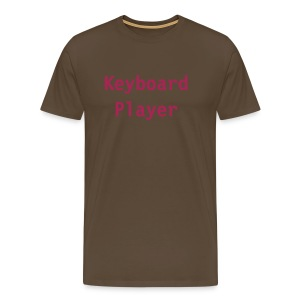 Keyboard player(brown) - Men's Premium T-Shirt