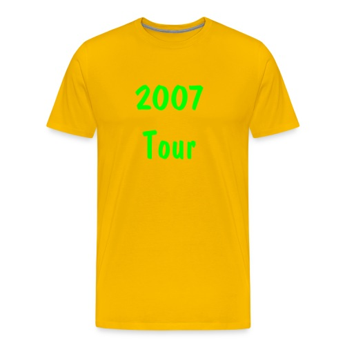 2007 Tour T-Shirt - Men's Premium T-Shirt