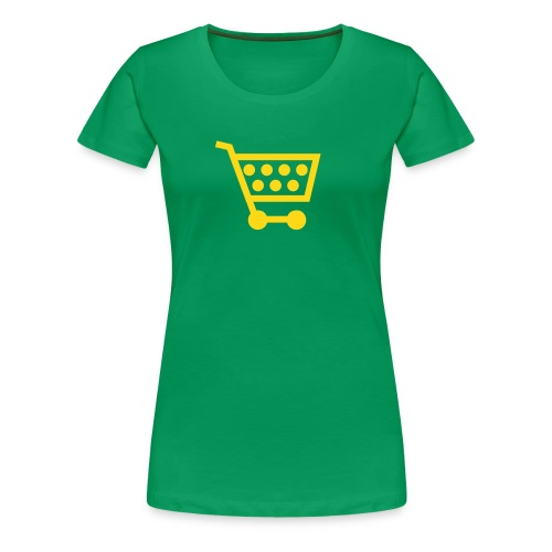 Shopping! - Women's Premium T-Shirt