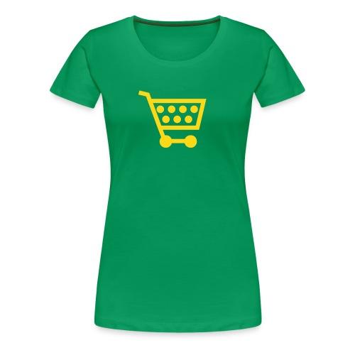 Shopping! - Women's Premium T-Shirt