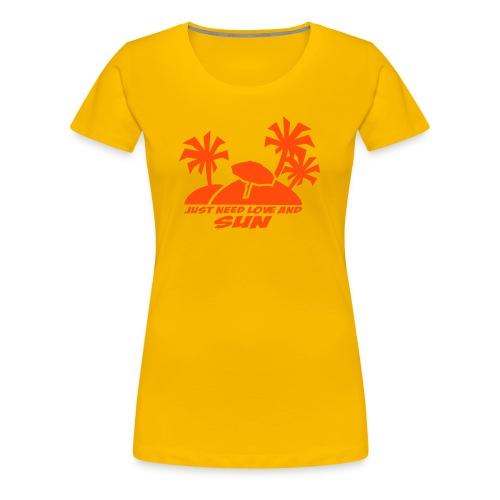 Klassisk Girlie/Classic Girlie - Premium T-skjorte for kvinner