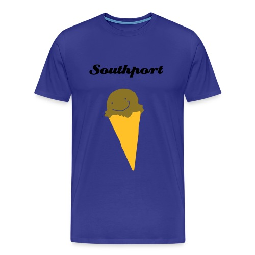 Southport Ice Cream! Blue - Men's Premium T-Shirt