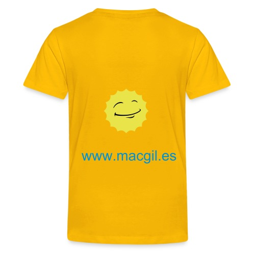 Camiseta niños/as - Camiseta premium adolescente