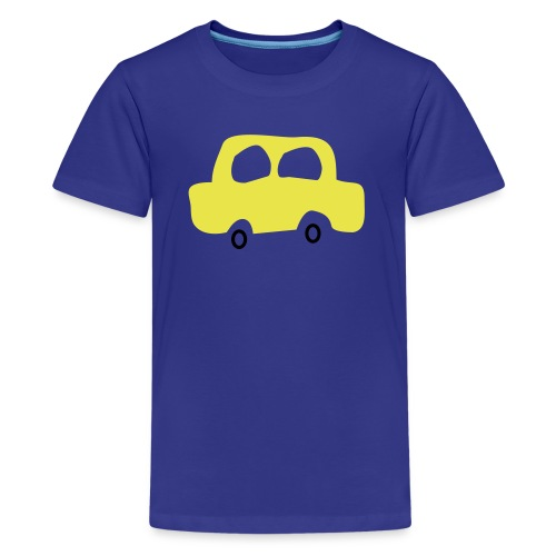 kindershirt auto - Teenager Premium T-shirt