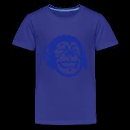 T-Shirts ~ Teenager Premium T-Shirt ~ Kinder-Shirt mit Äffchen