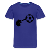 T-Shirts ~ Teenager Premium T-Shirt ~ Motive-Kinder-Shirt, Fussball