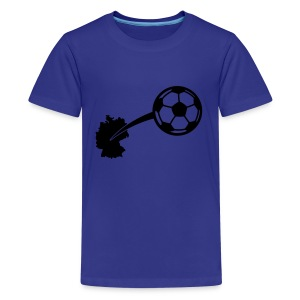 Motive-Kinder-Shirt, Fussball - Teenager Premium T-Shirt