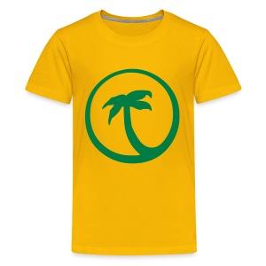 Motive-Kinder-Shirt, Palme - Teenager Premium T-Shirt