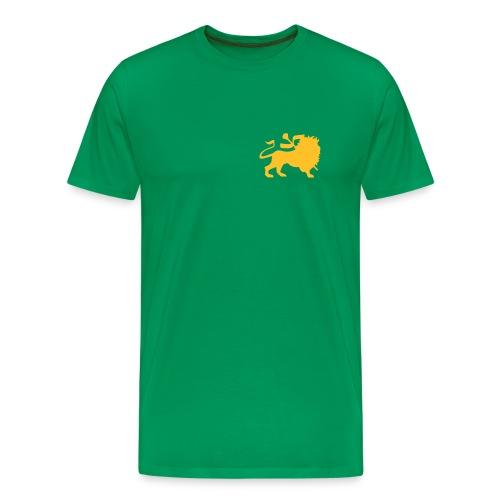Leijona perus - Miesten premium t-paita