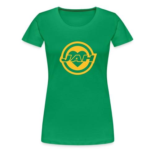 JAH Retro tytöille - Naisten premium t-paita