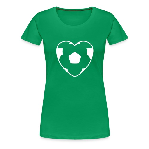 heartball - Frauen Premium T-Shirt