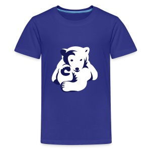Polar-Bär-Motiv auf Kinder-T-Shirt - Teenager Premium T-Shirt