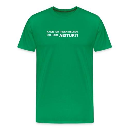 Abschluss-Shirt - Männer Premium T-Shirt