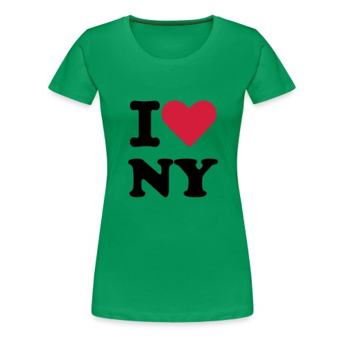 I LOVE1 - Women's Premium T-Shirt