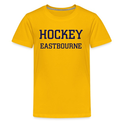 Unisex kids EB Hockey tee - Teenage Premium T-Shirt