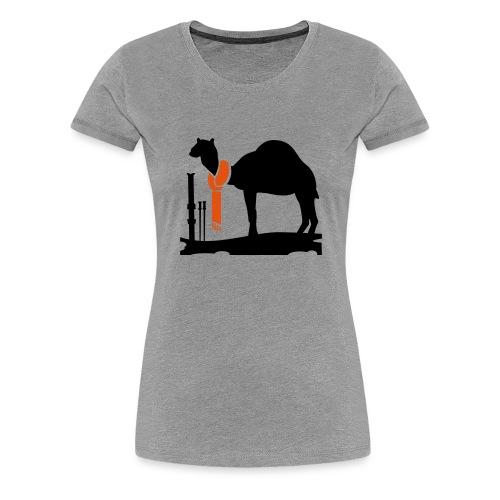 Dromedar - Premium T-skjorte for kvinner