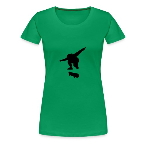 Motive-T-Shirt, Skateboard - Frauen Premium T-Shirt
