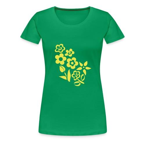 Flower4 - T-shirt Premium Femme