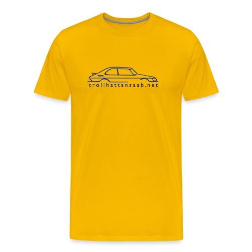 TS Yellow/Blu C900 tee - Men's Premium T-Shirt