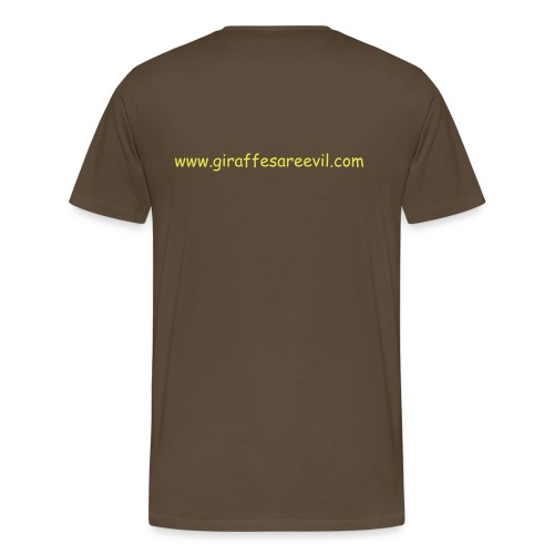 Standard T-Shirt Brown - Men's Premium T-Shirt