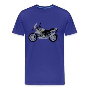 R1200GS 04-on (Sky) - Men's Premium T-Shirt