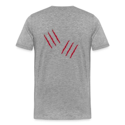 Kratzspuren - Männer Premium T-Shirt