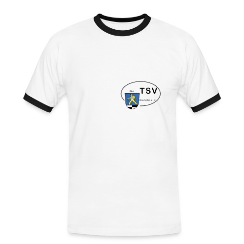 Trikot Home mit Wappen - Männer Kontrast-T-Shirt