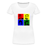 T-Shirts ~ Women's Premium T-Shirt ~ McFly Pop Art (T-Shirt)