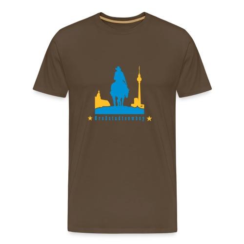 Cowboy Shirt - Männer Premium T-Shirt