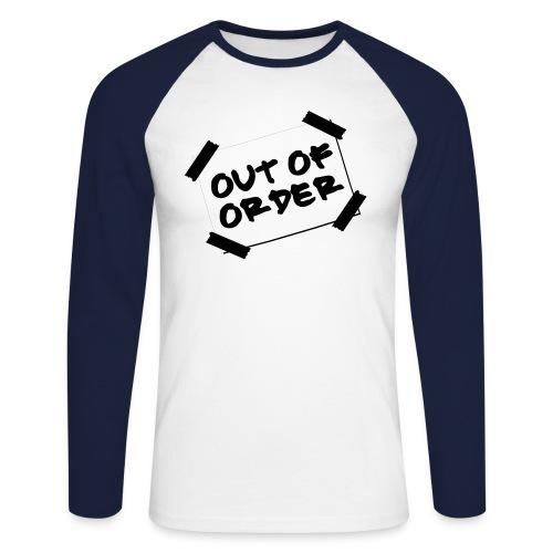 Out of Order - Men's Long Sleeve Baseball T-Shirt