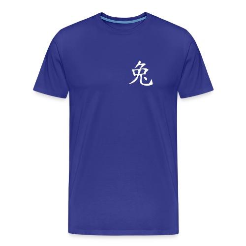 Chinesisches Zeichen, Horoskop Hase - Männer Premium T-Shirt