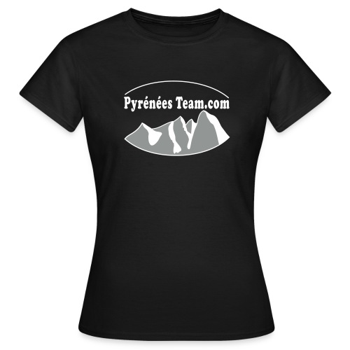 Pyrénées Team Officiel - T-shirt Femme
