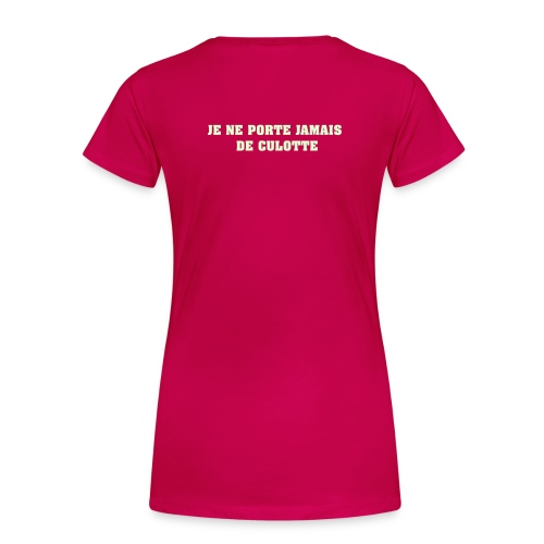 Jax Rasée - T-shirt Premium Femme