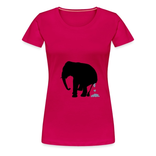Jumbo Rot - Frauen Premium T-Shirt