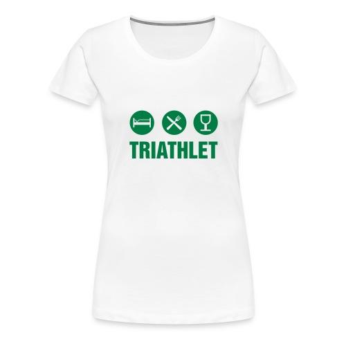 Jumby Weiss - Frauen Premium T-Shirt