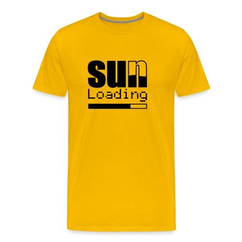 Sun.. loading - Männer Premium T-Shirt