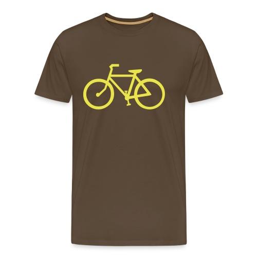 Bicycle 3 - Premium T-skjorte for menn