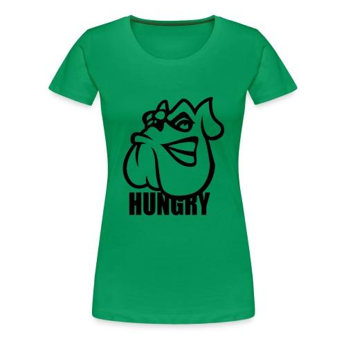 Hungry Girlie Shirt - Frauen Premium T-Shirt