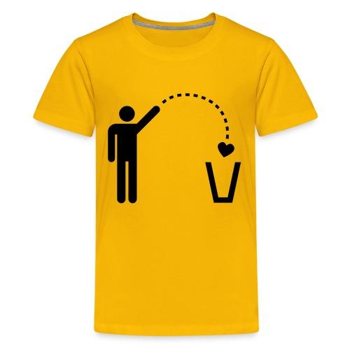 Omino cuore bambino - Maglietta Premium per ragazzi