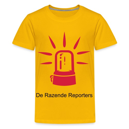 Razende Reporters Kids T-shirt - Teenager Premium T-shirt