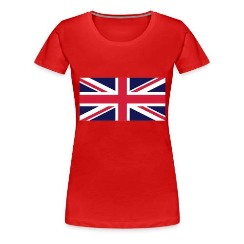 Continental t-shirt girls - Union Jack - Maglietta Premium da donna