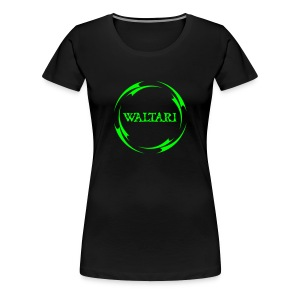 Triball black / green Girlie - Women's Premium T-Shirt